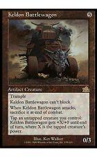 1x Keldon Battlewagon Prophecy MtG Magic Artifact Rare 1 x1 Card Cards