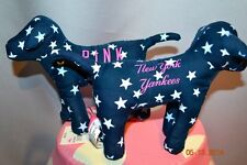 RARE Victorias Secret Pink MLB New York Yankees Mini Dog NWT