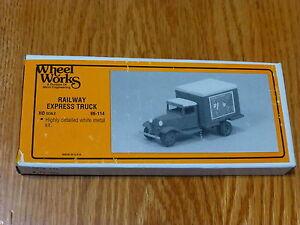 Wheel Works HO #96114 Ford -Railway ExpressTruck w/Decals 1934