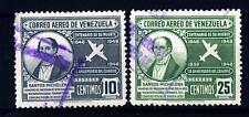 VENEZUELA - 1949 - Centenario della morte di Santos Michelena e 110° Anniversari