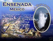 Mexico - ENSENADA La Bufadora - Travel Souvenir Magnet