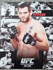 UFC JOHN FITCH  DELUXE 8 1/2 X 11 OFFICIAL PHOTO COLLECTIBLE