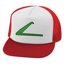Pokemon Ash Ketchum trucker cap hat logo stitched!