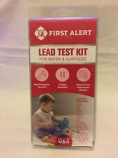 First Alert Lead Test Kit For Water & Surfaces Brand New Free Shipping