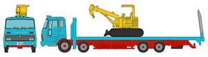 Tomytec Truck-Collection, Plattform-Truck Steinbreche, Bleu, Voie N Modèle 1 :