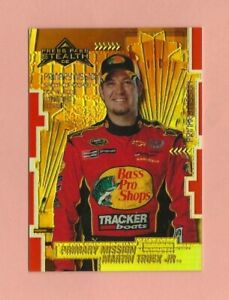2008 Press Pass Stealth Chrome Exclusives Gold #89 Martin Truex Jr. 58/99