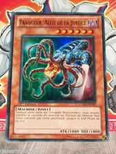 Carte YU GI OH TRAQUEUR, ALLIE DE LA JUSTICE HA02-FR020 x 3