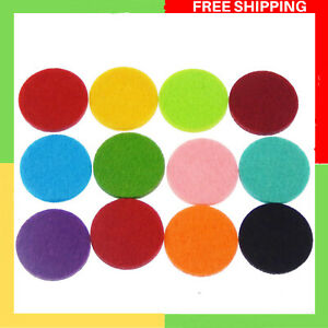 Felt Discs for Fragrance,Pack of (x60) Round 30mm Replacement Refill Pads WSE