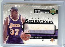 2006/07 Magic Johnson Upper Deck UD Basketball #SS-MA Auto Autograph Card