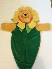 Winnie The Pooh Sunflower 0 - 3 Months Disney Infant Halloween Costume Bunting