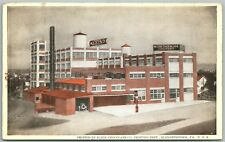 Elizabethtown Pa Klein Chocolate Co. Printing Dept Antique Postcard