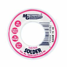 MG Chemicals 4898-227G,  Sn60/Pb40 x .062,  No Clean Leaded Solder - 1/2 lb.