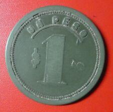 CHILE BAKELITE TOKEN Club de la Union $1 (No Date)