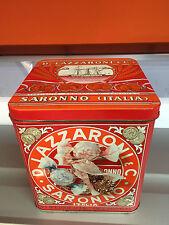 Scatola di latta AMARETTI DI SARONNO D. Lazzaroni anni 80