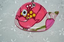 Vera Bradley Seashore Keychain Lilli Bell Whale New With Tag Free Shipping