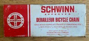 """VINTAGE Schwinn Bicycle Chain -1/2 x 3/32 - 58"""" long"""