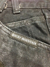 """Rocky Mountain Black Jeans  tapered leg  excellent  25"""" X 30"""""""