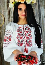 Ukrainian embroidered traditional shirt, blouse, sorochka vyshyvanka, 3 models