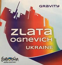 CD PROMO EUROVISION 2013 UKRAINE GRAVITY ZLATA OGNEVICH