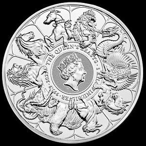 2021 1 Kilo British Silver Queen's Beast Completer Coin (BU)