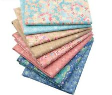 8 Pcs Colorful Fabric For Quilting Cloth Patchwork Handmade Needlework Material