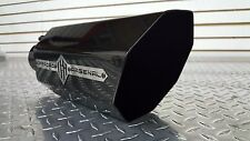 """OFFROAD ARSENAL 5"""" INLET 8"""" OUTLET 18"""" DIESEL OCTAGON EXHAUST TIP GLOSS BLACK NP"""