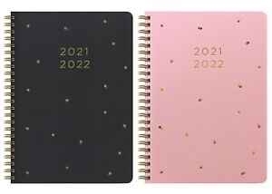Letts Celebrate 2021-2022 A6 Week To View Academic Diary Mid Year Spiral Bound