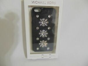 Michael Michael Kors Embellished Leather-Inlay iPhone 6 Plus Cover  $80