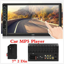 7 Inch 2 Din Car HD Touch Radio Stereo MP5 Player Bluetooth/FM/USB/Aux-Input