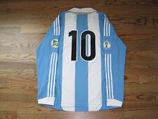 Messi Argentina Barcelona Shirt Jersey Formotion Player Issue Match Un Worn L/S