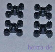 LEGO Technik - 4 x Kugelzahnrad / Zahnrad schwarz / Knob Wheel / 32072 NEUWARE