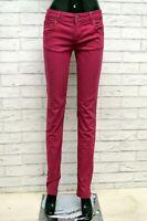 Pantalone ICEBERG Donna Taglia Size 27 Jeans Pants Woman Cotone Slim Skinny Fit