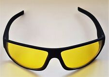 UNISEX COMFORTABLE & LIGHTWEIGHT ANTI GLARE NIGHT DRIVING GLASSES. IDEAL GIFT.