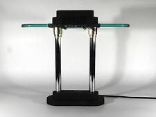 Extra light mesa lámpara ° 80`s sompex memphis Design halógena °° sottsass era