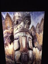 "Emily Carr ""Charlotte Island Totem"" Canadian Art 35mm Slide"