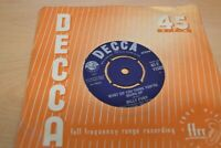 "BILLY FURY LIKE I`VE NEVER BEEN GONE  7"" SINGLE  DECCA RECORDS 45-F 11582   1963"