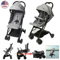 Baby Stroller Carriage Foldable Travel System Stroller Buggy Infant Pushchair 1w