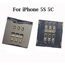 SIM CARD TRAY SLOT CONNECTOR READER HOLDER APPLE IPHONE 5S 5C SPARE PART MODULE