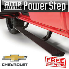 AMP Research PowerStep Running Boards 14-18 Silverado 1500 EC CC W/ Light Kit