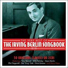 2 CD BOX IRVING BERLIN SONGBOOK BENNETT HOLIDAY ASTAIRE MARTIN CROSBY SIMONE ETC