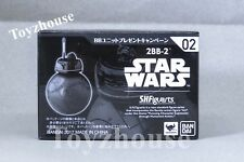 Bandai S.H.Figuarts Star Wars Last Jedi 2BB-2 Figure New