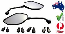 Quality Universal Bar Mount Motorcycle Mirror set Honda CB 400 Lams