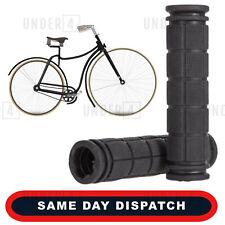 Soft Rubber Anti Skid Handle Bar Black Grips Bike Bicycle Cycle Universal UK