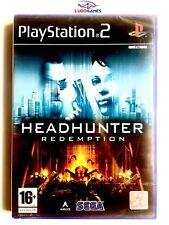 Headhunter Redemption PS2 PAL/SPA Nuevo New Precintado Videojuego Playstation