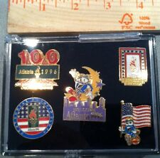 1996 Olympic Game Promo Pin Set of 5