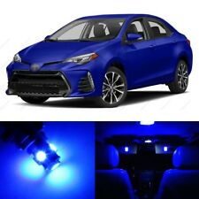 8 x Blue LED Interior Lights Package For 2001 - 2017 Toyota Corolla + PRY TOOL