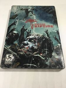 Dead Island Riptide Steelbook PS3 Xbox360 Steel Book *Case Only No Game*