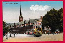 Unposted card. Kobenhavn, Borsen, Denmark