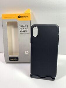 Humixx Ultra Thin Series iPhone X/XS Minimalist (Naked Phone Texture) Matte Blac