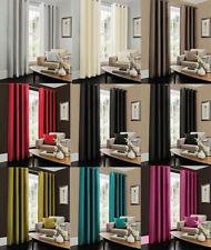 Cortinas y visillos dormitorio de seda artificial